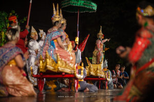 Rama's Exile in the Forest, Khon, Ramayana